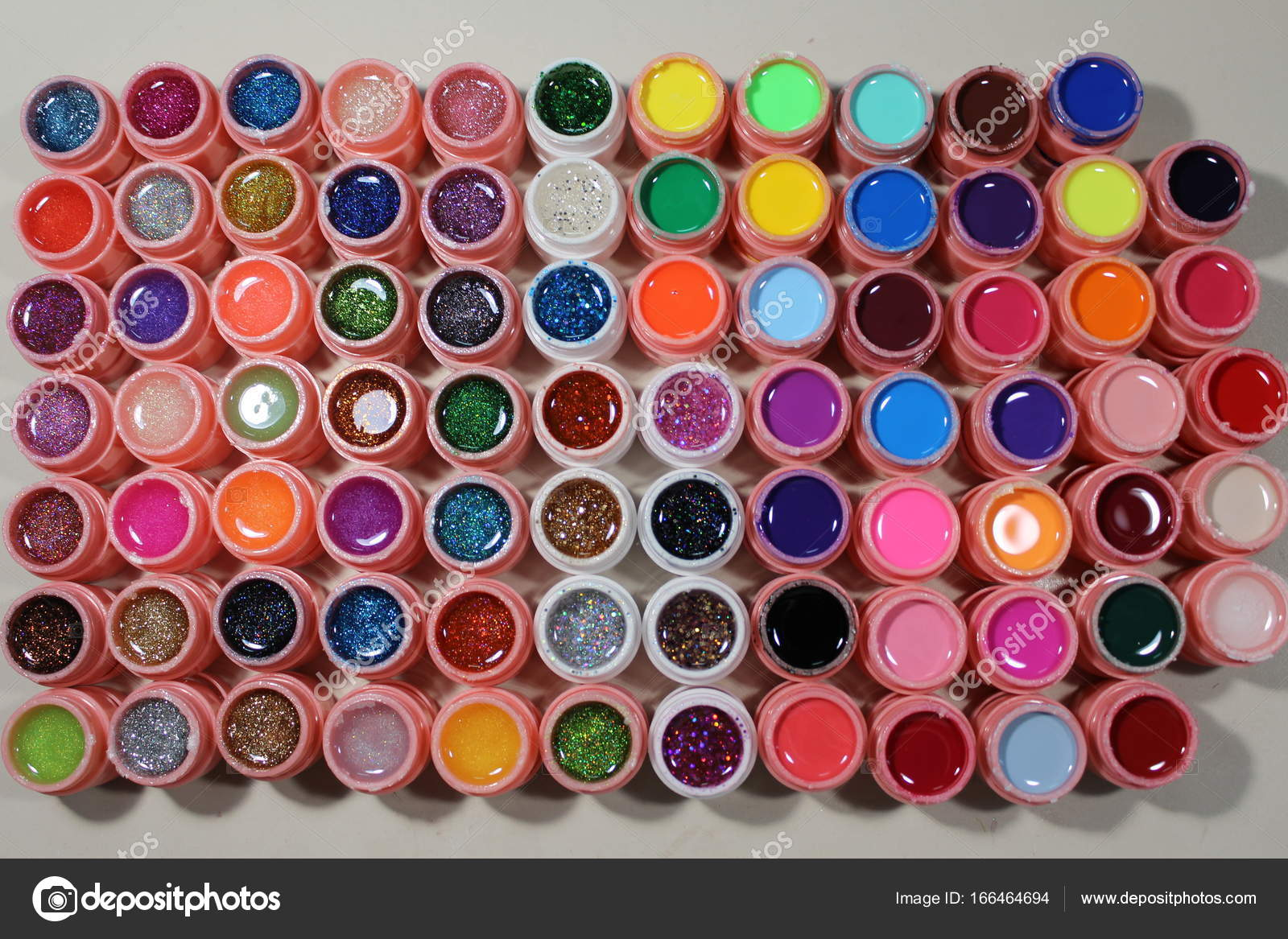 Bright colors for nails, many colors — Stock Photo © SmirMaxStock ...