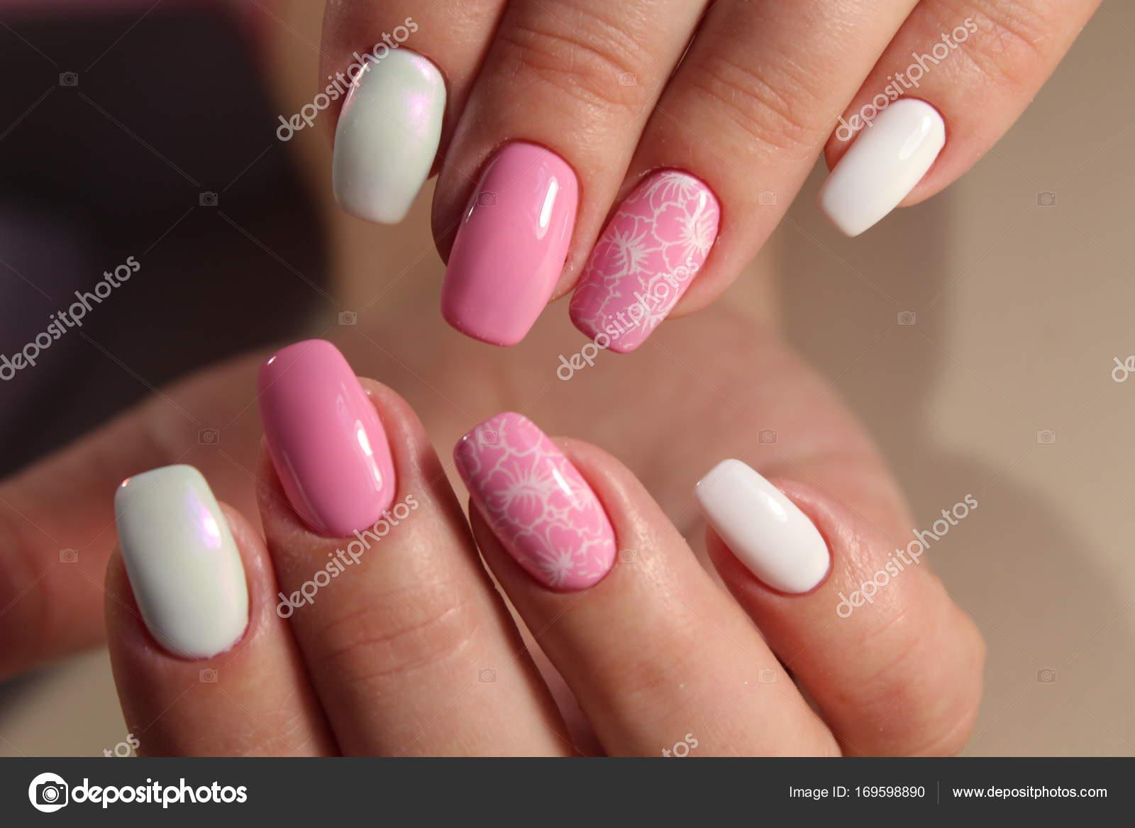 Fashion Nails Design Manicure Stock Photo Smirmaxstock 169598890