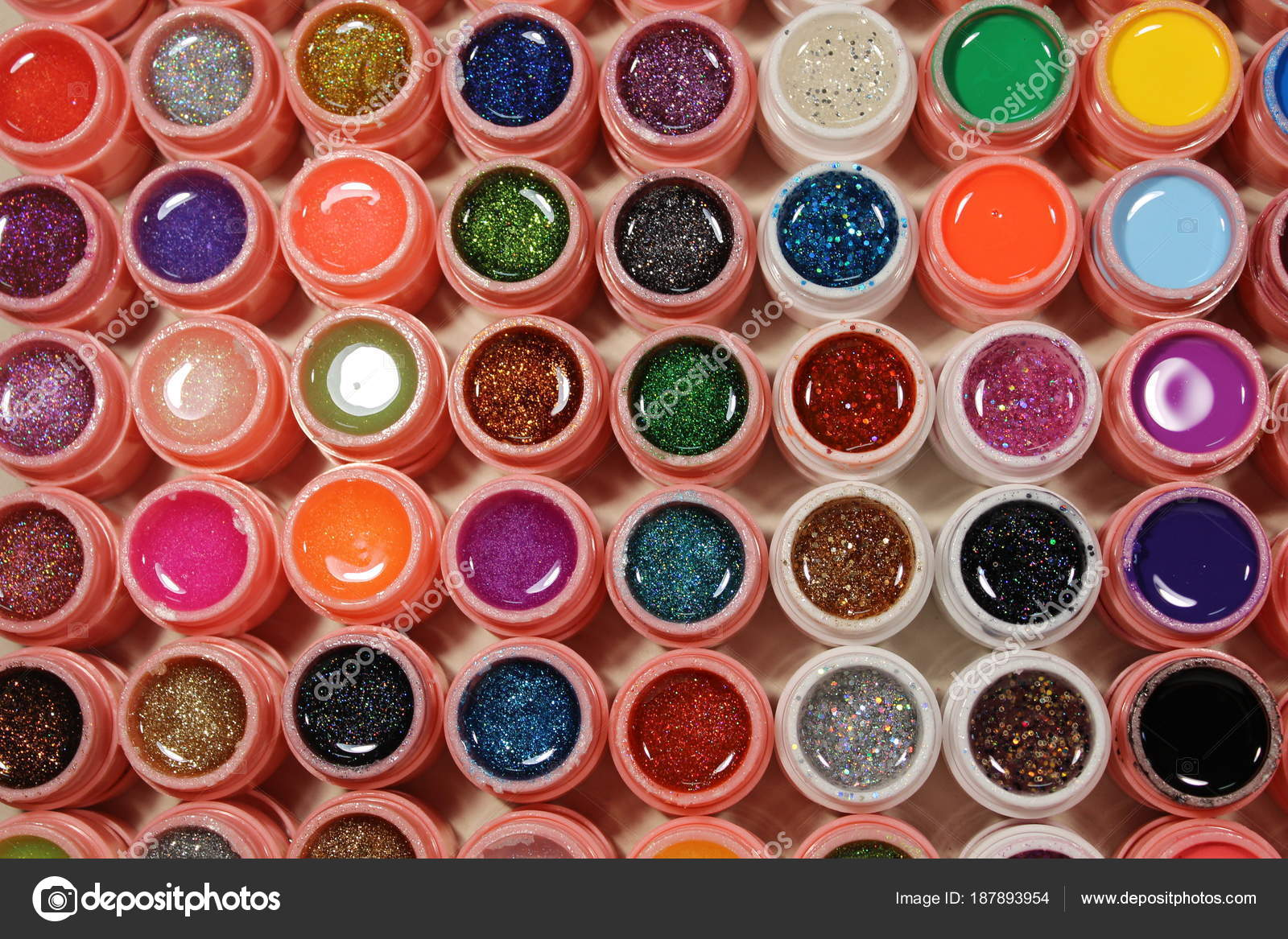 Bright colors for nails — Stock Photo © SmirMaxStock #187893954