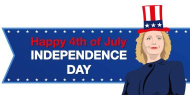 Hillary Clinton. Independence day
