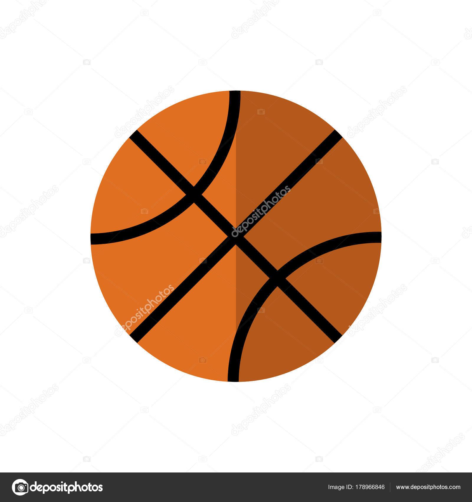 f4f76bb753fd Bascketball. Икона на изолированных фоне. Атрибуты для летних видов спорта  — Вектор от vector brothers