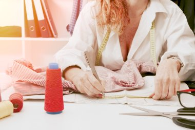 woman working, business