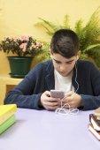 Fényképek gyermek-val a mozgatható telefon