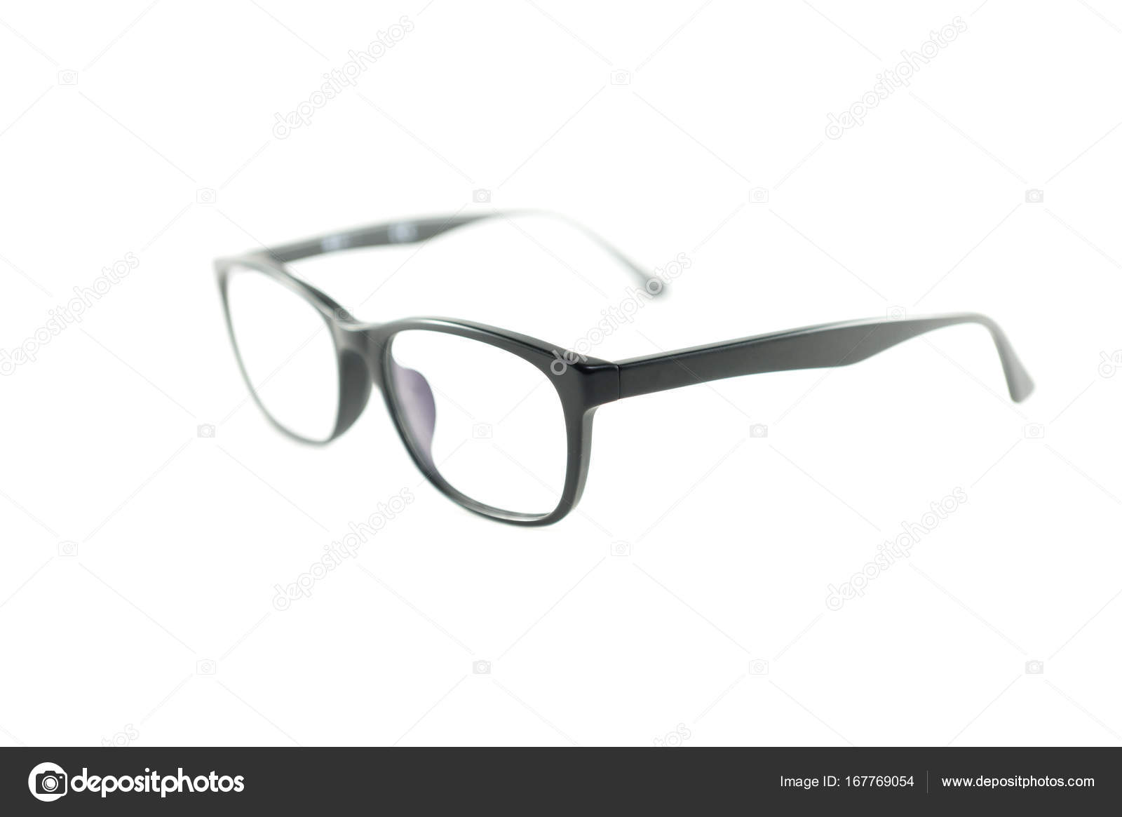 Schwarzer Rahmen Brillen — Stockfoto © zendograph #167769054