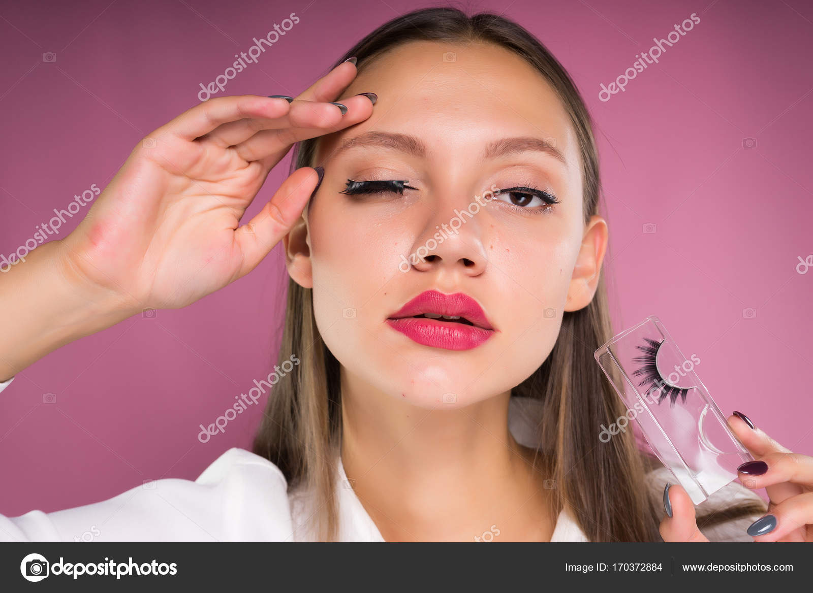 Bilder von großen Lippen