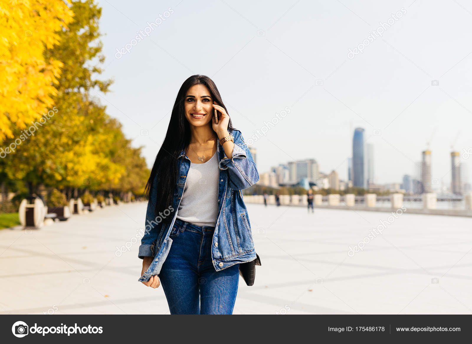 Aserbaidschan Stadt Mädchen