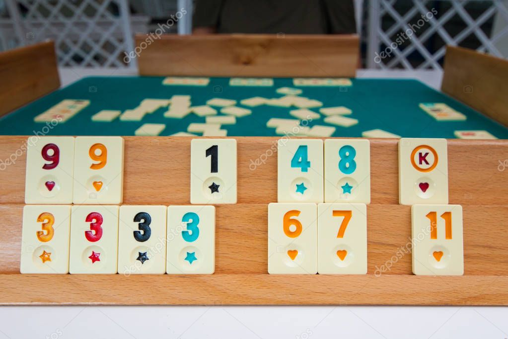 Türkisches Brettspiel