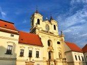 Benediktinský klášter a opatství Rajhrad. Památník písemnictví na Moravě. Nejstarší klášter na Moravě, Česká republika