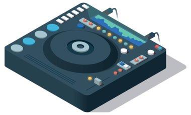 icon set of Dj mixer