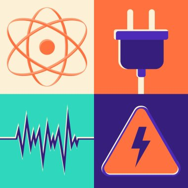 icon set of energy