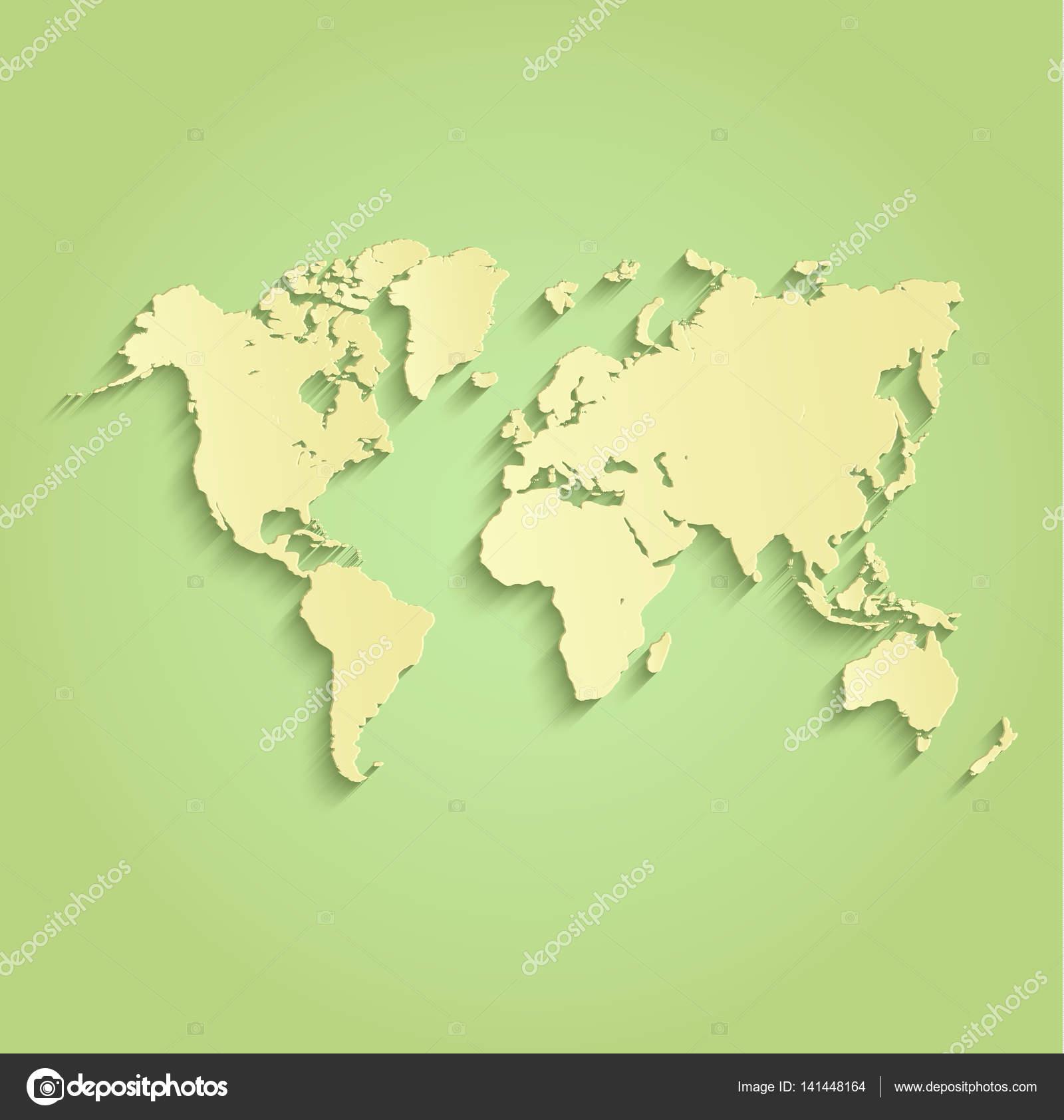 World map green yellow raster stock photo mondih 141448164 world map green yellow raster stock photo gumiabroncs Gallery