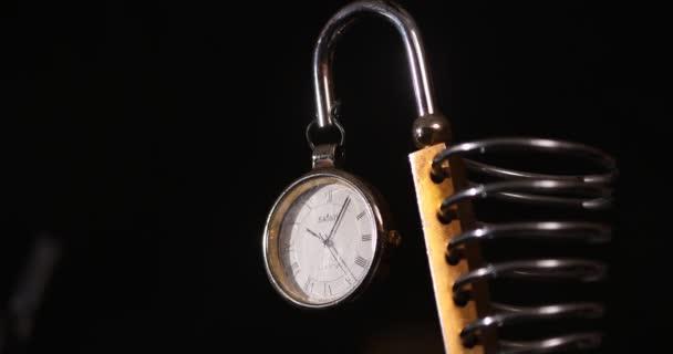 Vintage óra az erődben