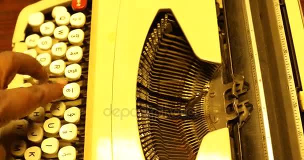 ročník ruční psací stroj
