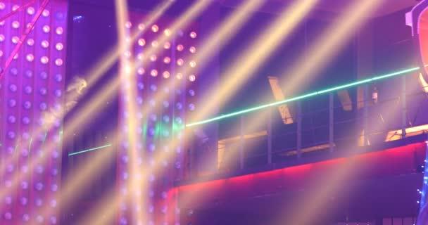 Laser Lights in the Pub