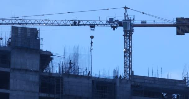 Lidé pracující na staveništi 7. března Hyderabad Indie