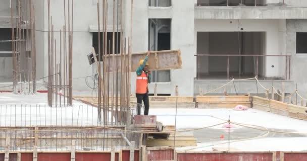 Menschen auf der Baustelle 7. März 2020 Hyderabad Indien
