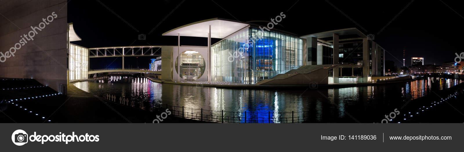 Schoner Panoramablick Auf Modernen Berliner Architektur Gebaude