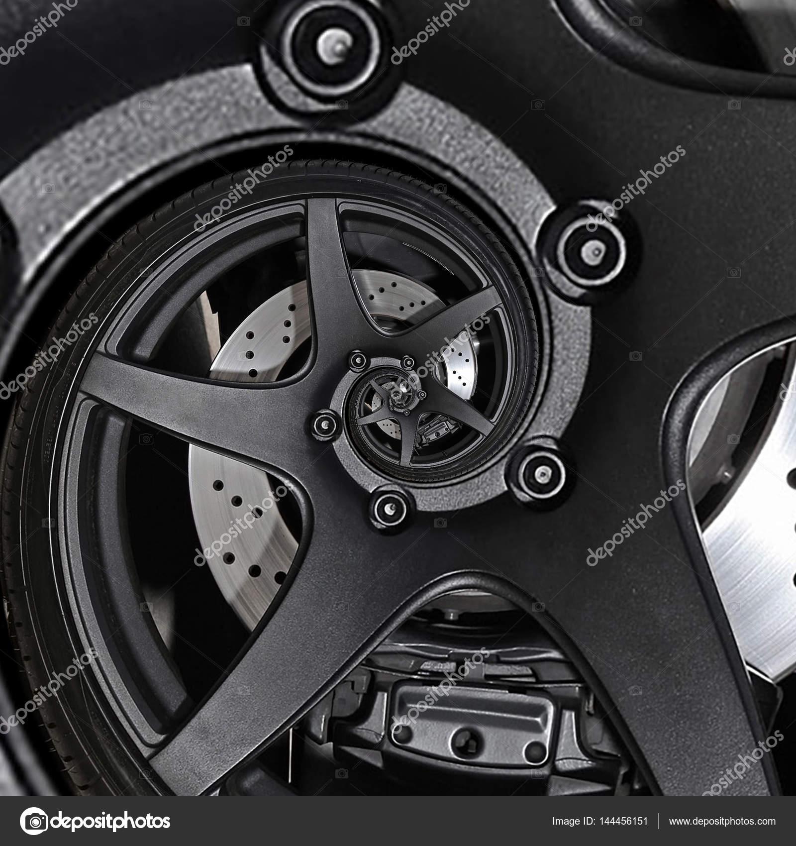 Deporte coches automóvil abstracta fractal Freno disco llantas ...