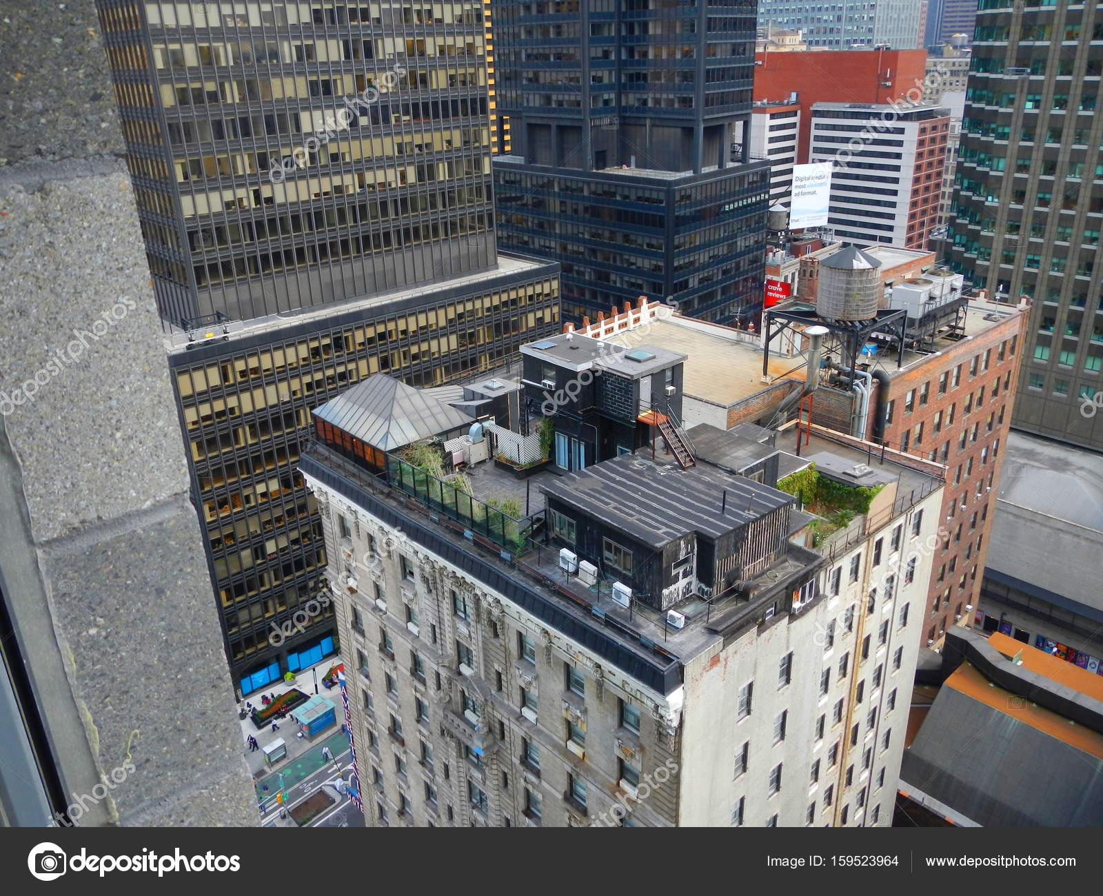 ニューヨークの高層ビル建築のニューヨーク市、マンハッタン