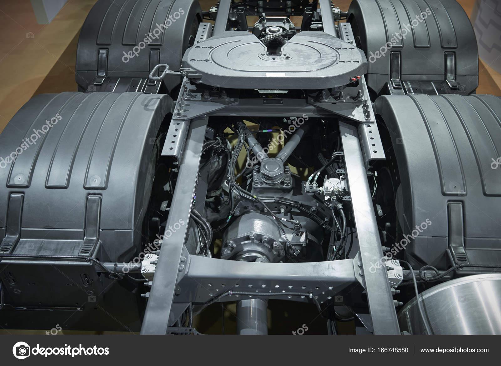 Ver el equipo de marco de chasis de camión. Carro nuevo piezas de ...