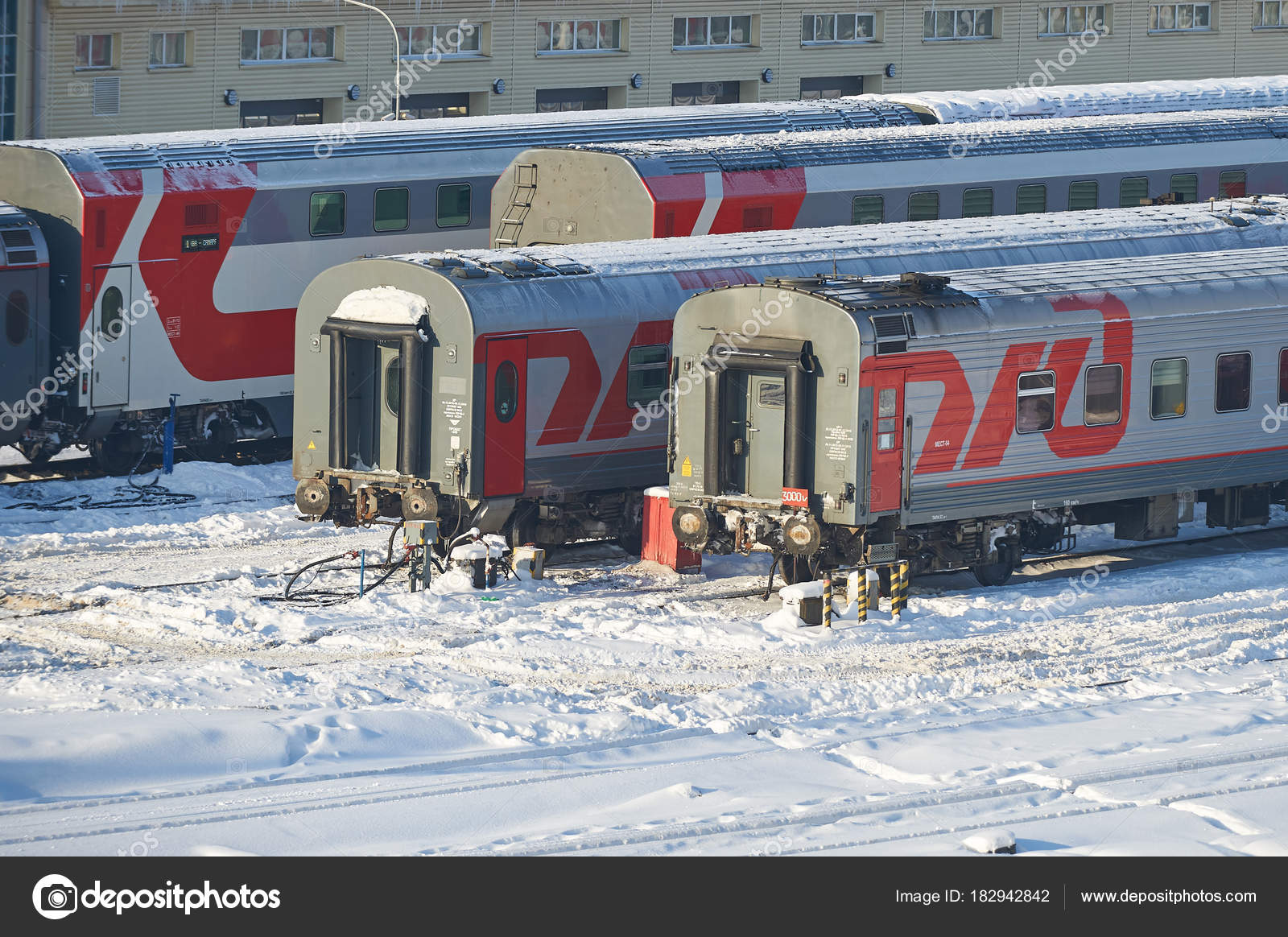 モスクワは 2018 鉄道乗用車コー...