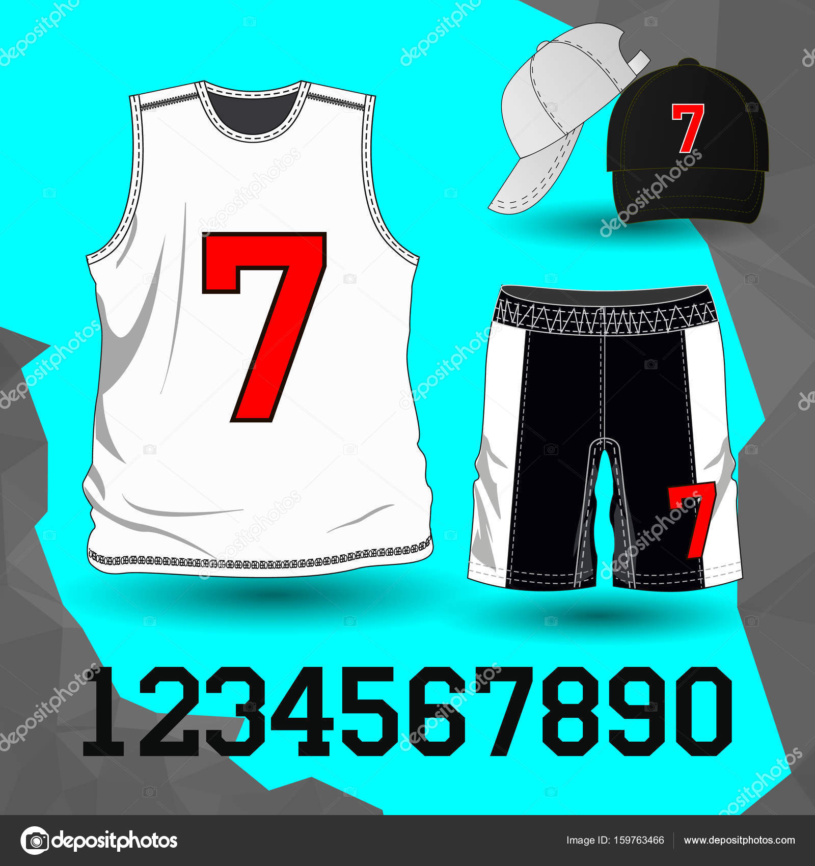 b3d7b744b3d6b Fútbol de uniforme  camiseta