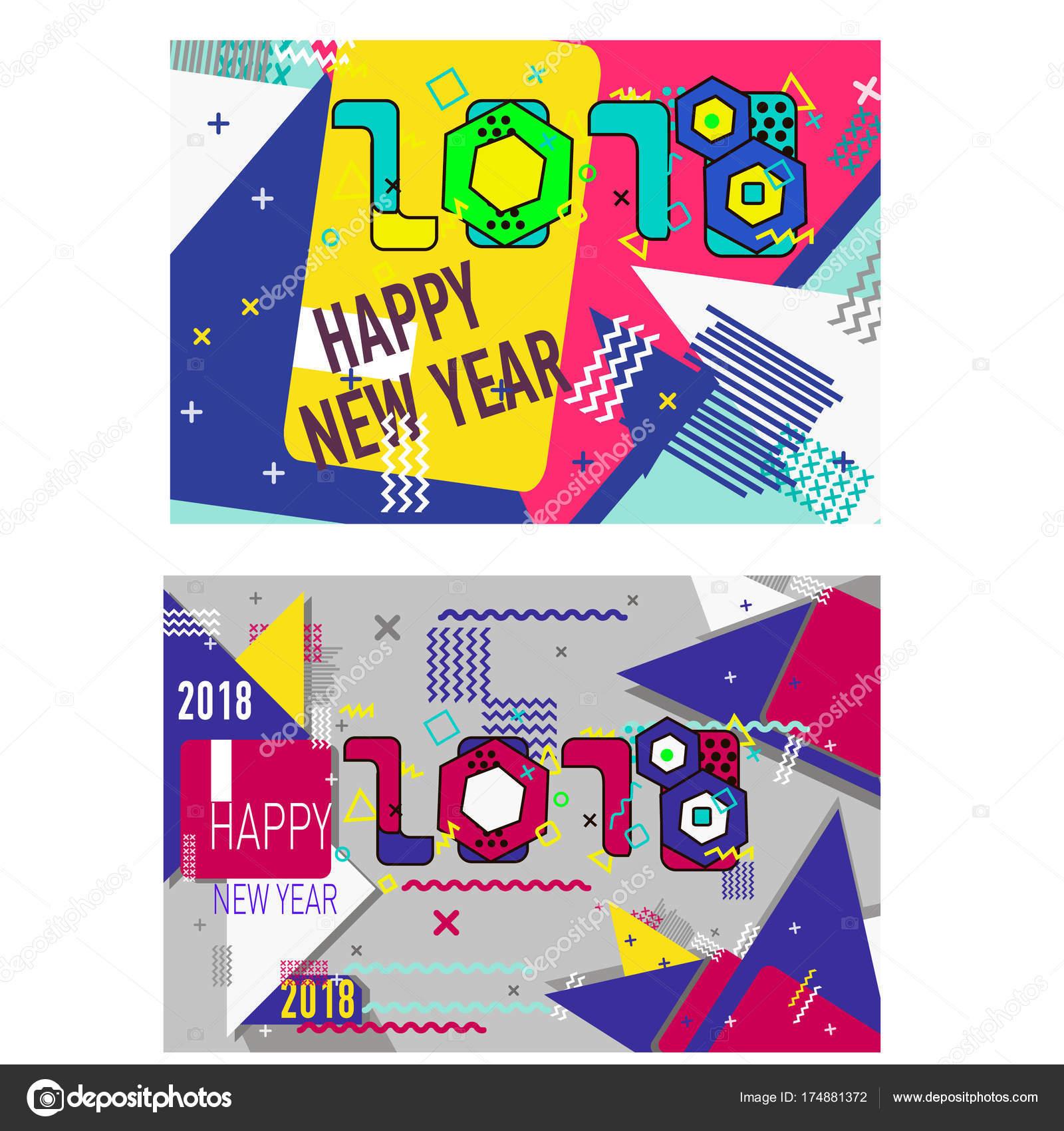 Feliz Navidad año nuevo diseño, plantilla de banner de cogida del ...