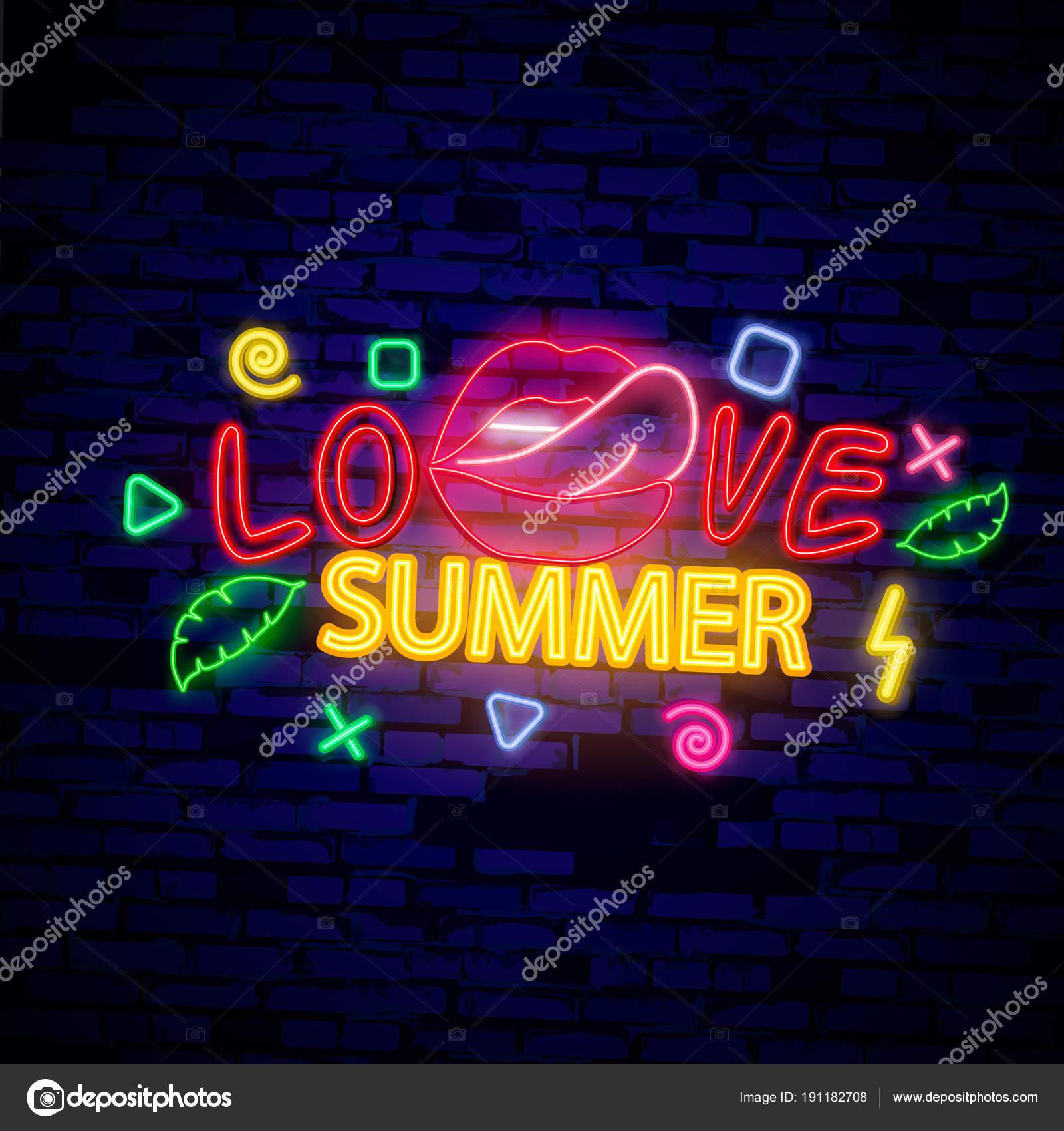 Letní noční party. Letní pláž strany plakát s nápisy typografie ... bff0c2a0a2