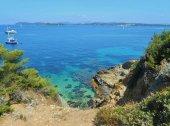 Fotografie Porquerolles island, Hyeres, France.