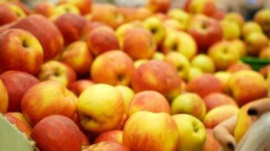 Fruit supermarket hand