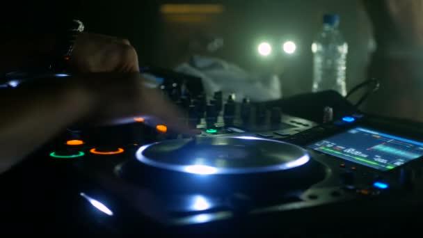 DJ mixer vezérlő éjszakai klub party zene