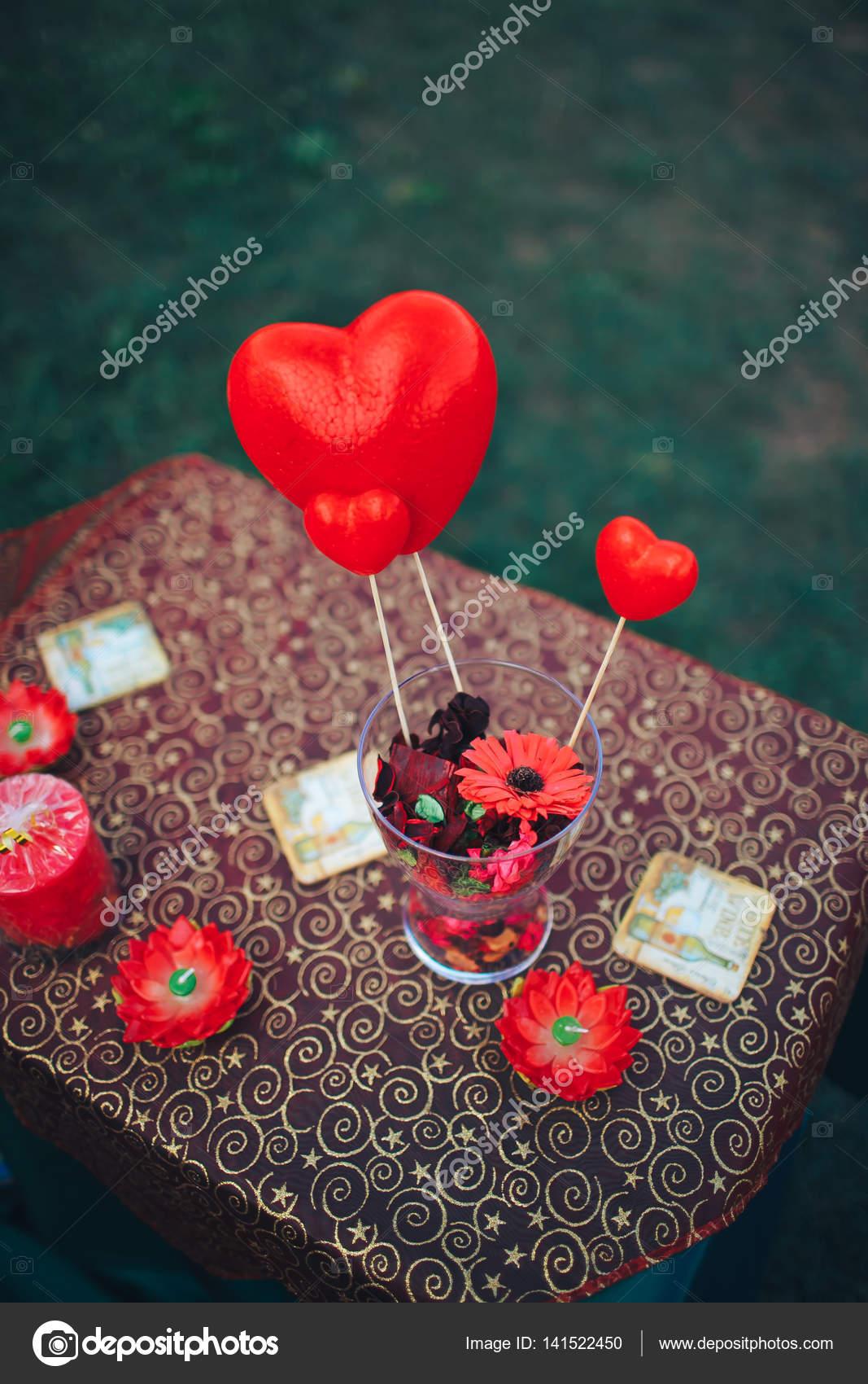 Historia De Decorlove De Dia De San Valentin Decoracion De Mesa - Cena-romantica-decoracion
