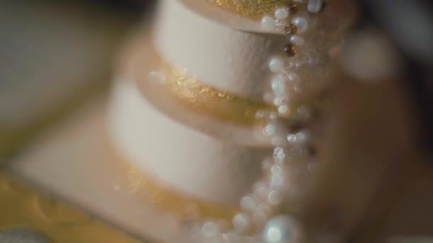 Svatební pozadí. svatební dar na Detailní tabulka