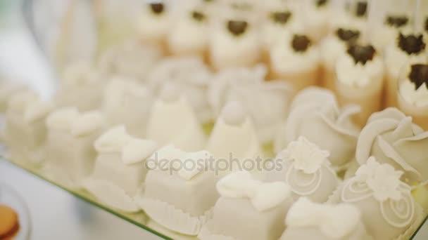 Candy Bar svatba, candy bufet. Closeup