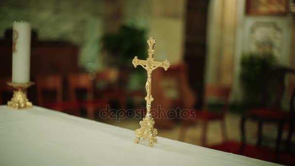 Jézus Krisztus kereszt templom, mozgatni a kamerát