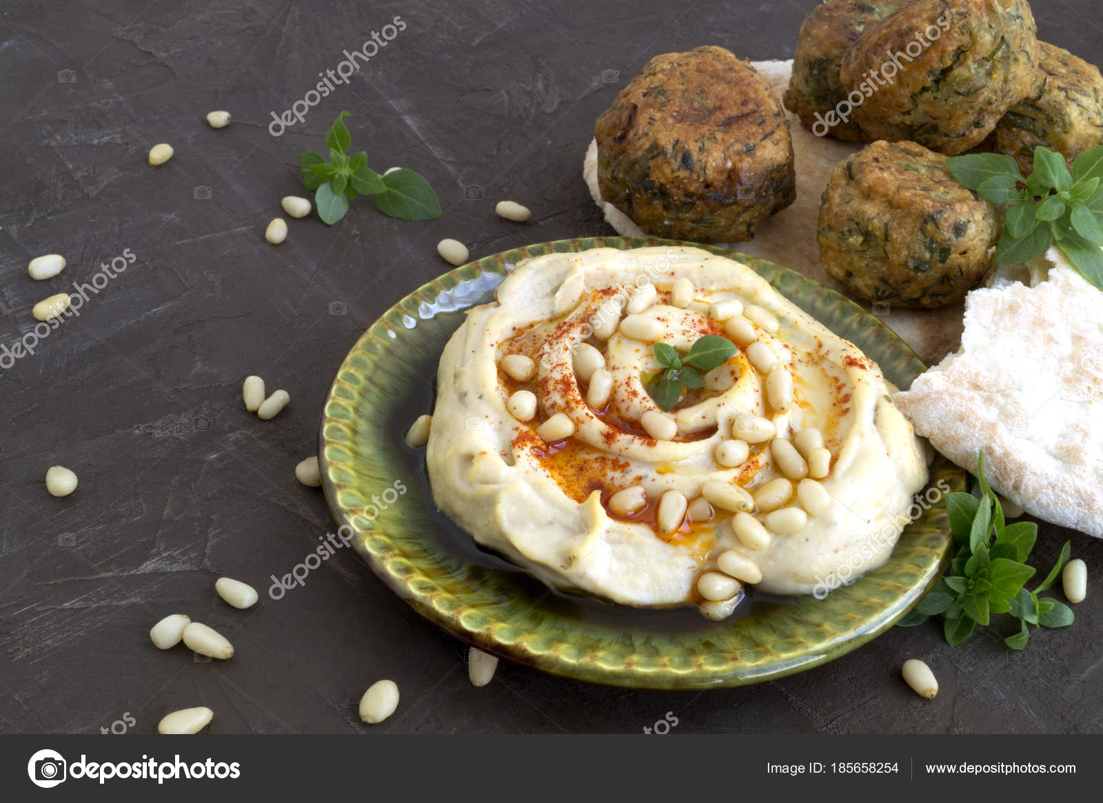 Arabic food hummus and falafel on a gray background stock photo arabic food hummus and falafel on a gray background photo by sedaeva forumfinder Gallery