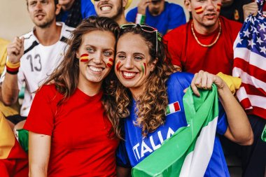 Supporters from Multiple Countries