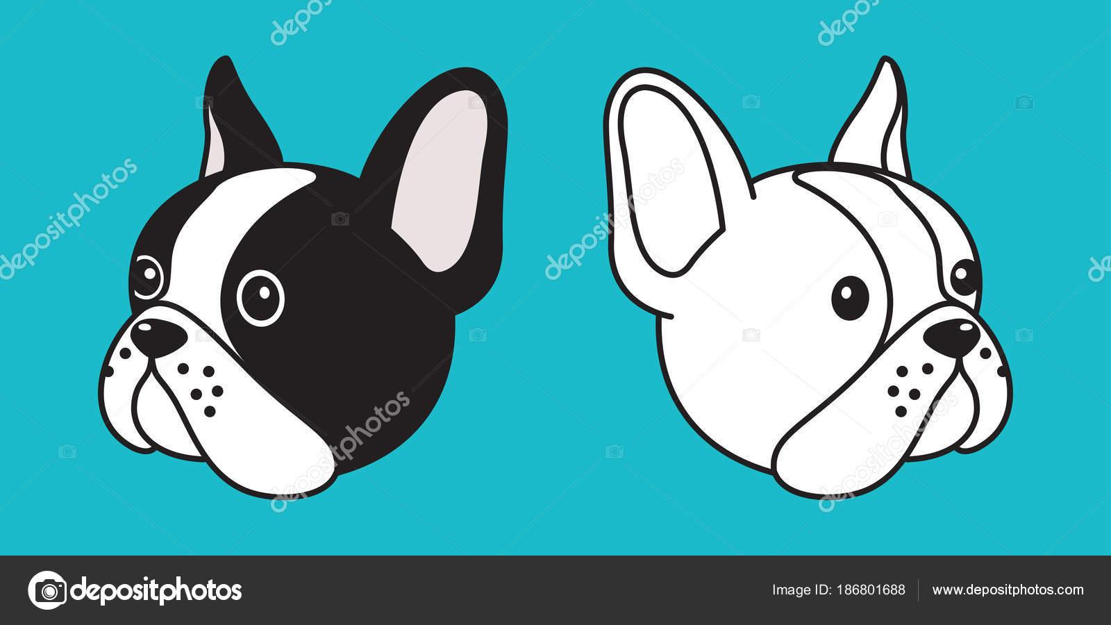 cão vector buldogue francês ilustração principal personagem dos