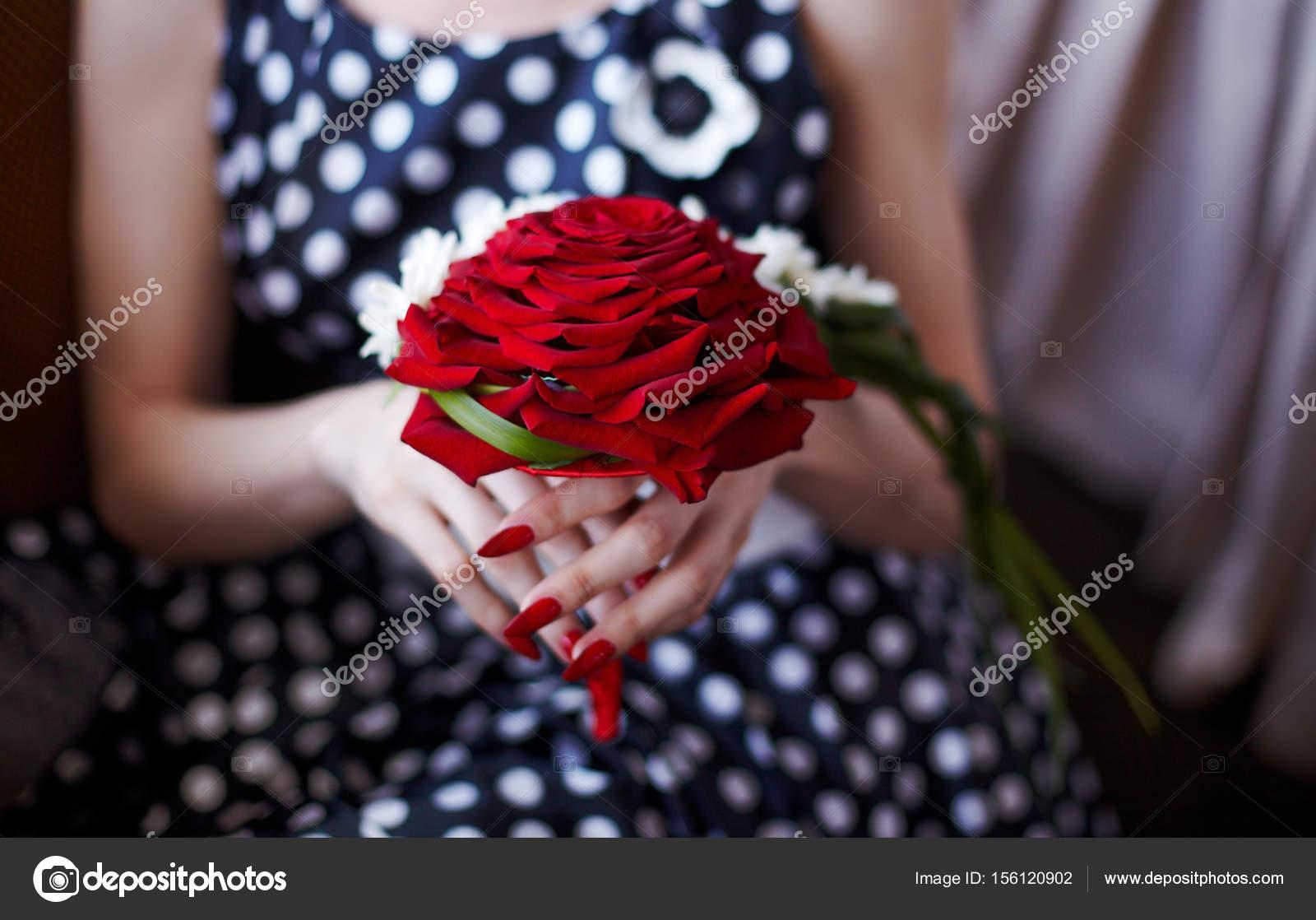 Bouquet De Mariee Tres Rare Magnifique Concept Elegant Fait De