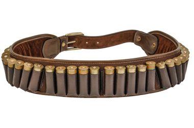 Hunter rifle ammo ammunition belt and bandolier, cartridges insi