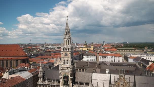 Gimbal schoss auf Münchner Marienplatz
