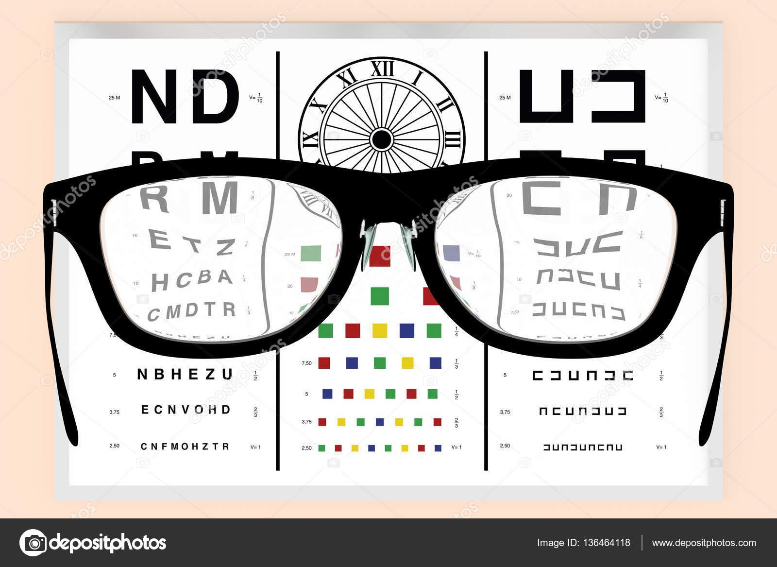 nouvelles images de livraison rapide livraison gratuite Lunettes de vue et de test de vision optométriste ...