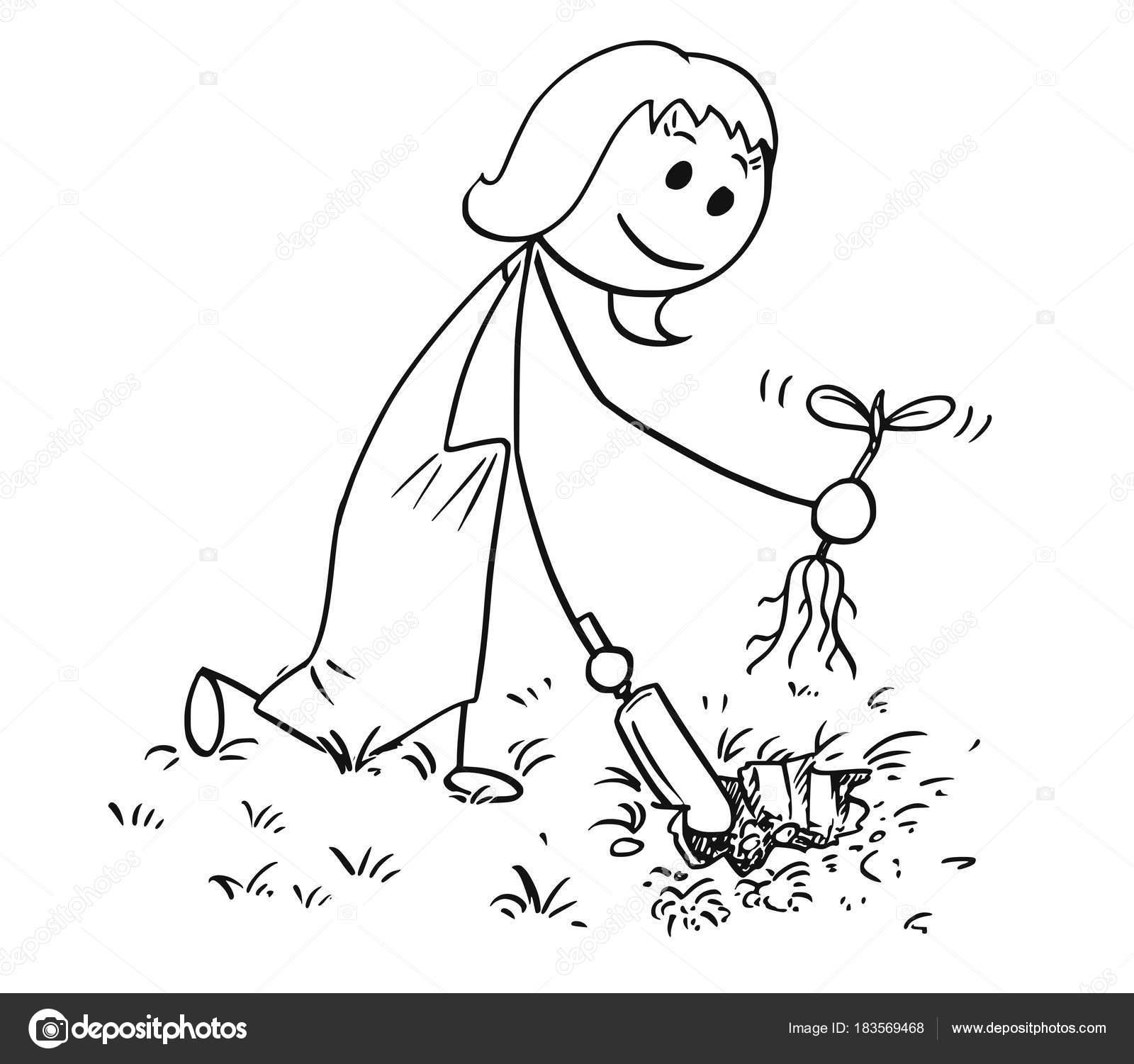 Imágenes Modista Para Colorear Dibujos Animados De La
