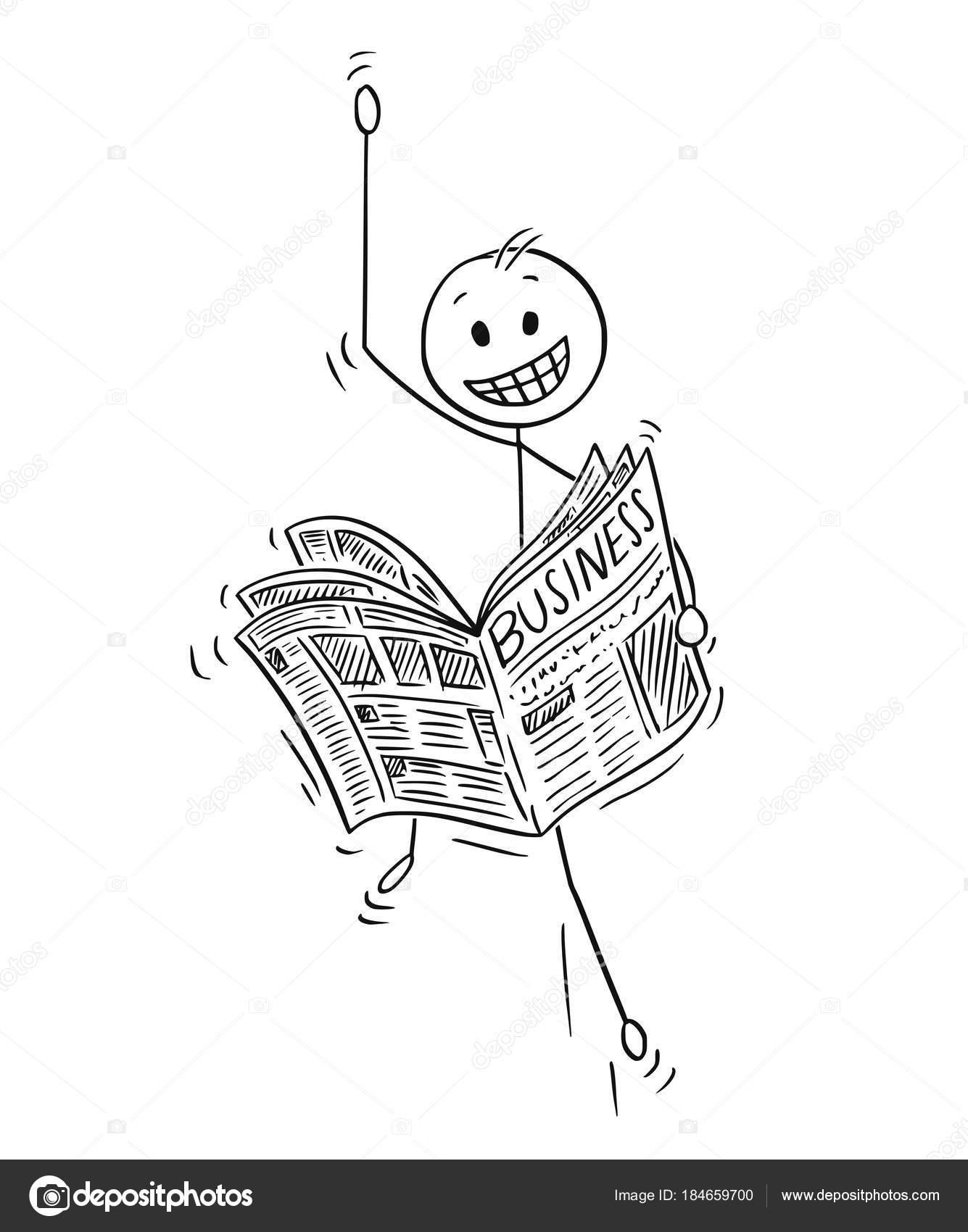 Imágenes Negocios En Caricatura Caricatura De Hombre De Negocios