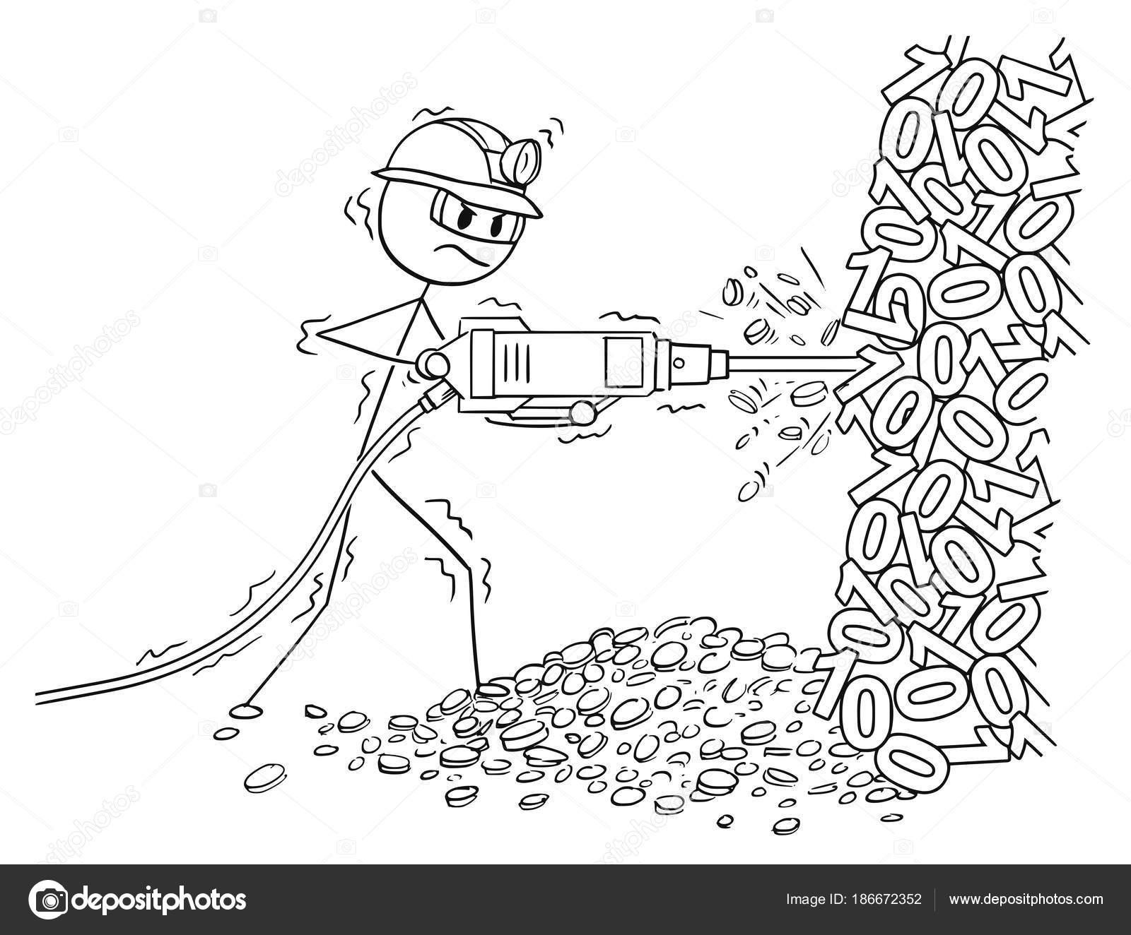 Dibujos Mineria Para Niños Dibujos Animados Del Hombre