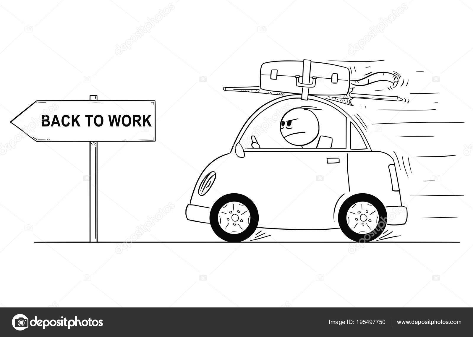 Возвращение из отпуска на работу