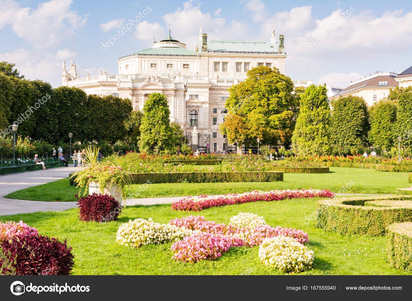 Stadtpark Volksgarten In Wien Redaktionelles Stockfoto Manfredxy