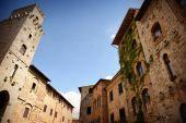 Fotografie Altbauten in San Gimignano