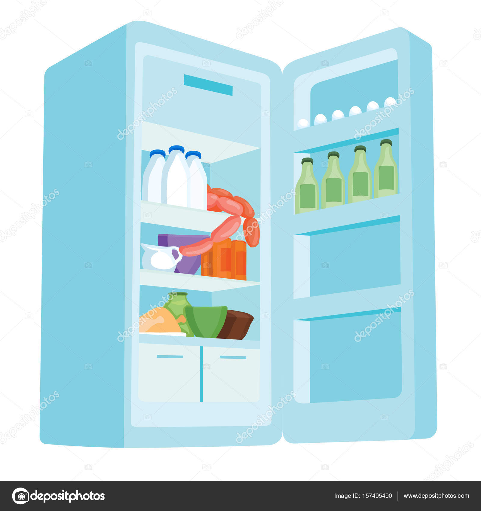 Outdoor-Kühlschrank — Stockvektor © nixes #157405490