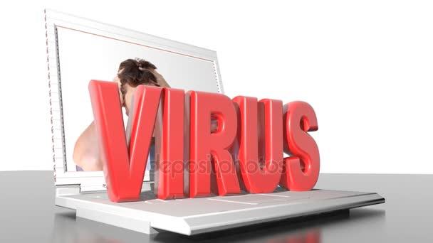 Počítačový virus - 3d vykreslování